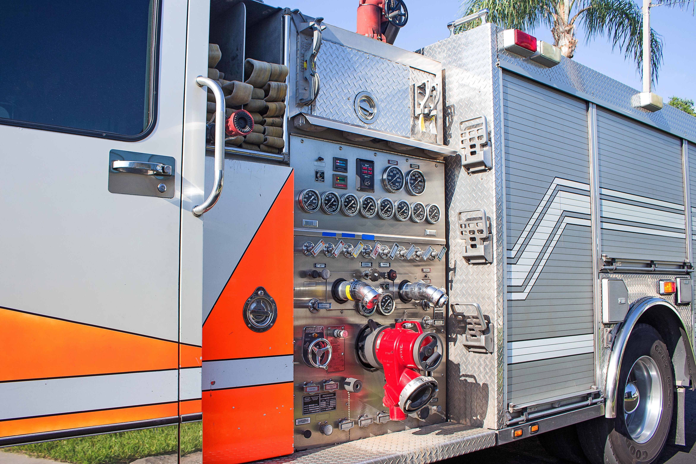 Brandweerauto met werkend systeem voor Dumitrita met 3200 inwoners